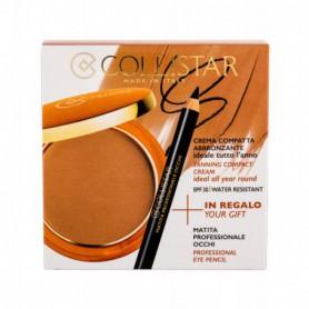 Collistar Tanning Compact Cream SPF30 Puder 9g 5 Seychelles zestaw upominkowy