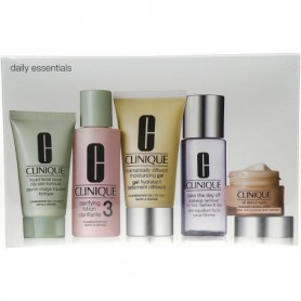 Clinique Daily Essentials Combination Skin Żel do twarzy 50ml zestaw upominkowy