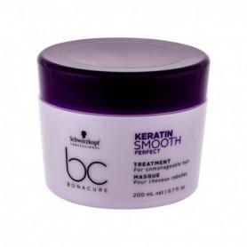 Schwarzkopf BC Bonacure Keratin Smooth Perfect Maska do włosów 200ml