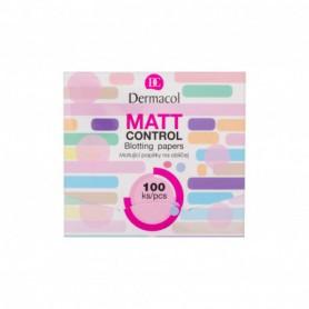 Dermacol Matt Control Chusteczki oczyszczające 100ml
