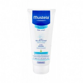 Mustela Bébé 2 in 1 Shower Gel Żel pod prysznic 200ml