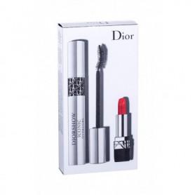 Christian Dior Diorshow Iconic Overcurl Tusz do rzęs 10ml 090 Over Black zestaw upominkowy