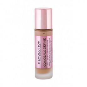 Makeup Revolution London Conceal & Define Podkład 23ml F7