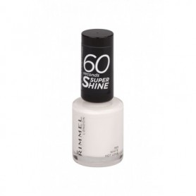Rimmel London 60 Seconds Super Shine Lakier do paznokci 8ml 703 White Hot Love