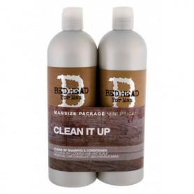 Tigi Bed Head Men Clean Up Szampon do włosów 750ml zestaw upominkowy