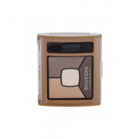 BOURJOIS Paris Smoky Stories Quad Eyeshadow Palette Cienie do powiek 3,2g 06 Upside Brown