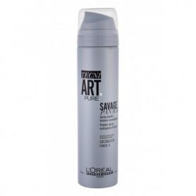 L´Oréal Professionnel Tecni.Art Savage Panache Pure Powder Spray Objętość włosów 250ml