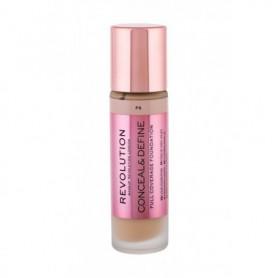 Makeup Revolution London Conceal & Define Podkład 23ml F6