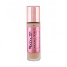 Makeup Revolution London Conceal & Define Podkład 23ml F3