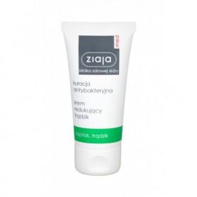 Ziaja Med Antibacterial Treatment Anti-Acne Cream Krem do twarzy na dzień 50ml