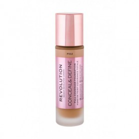 Makeup Revolution London Conceal & Define Podkład 23ml F10,2