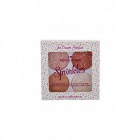 Makeup Revolution London I Heart Revolution Sprinkles Róż 6g Ice Cream Sundae