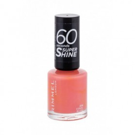 Rimmel London 60 Seconds Super Shine Lakier do paznokci 8ml 406 Coral Blush