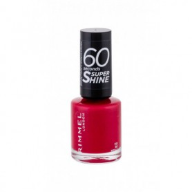 Rimmel London 60 Seconds Super Shine Lakier do paznokci 8ml 312 Be Red-y