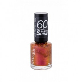 Rimmel London 60 Seconds Super Shine Lakier do paznokci 8ml 834 Fab!