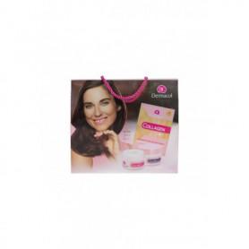 Dermacol Collagen  SPF10 Krem do twarzy na dzień 50ml zestaw upominkowy