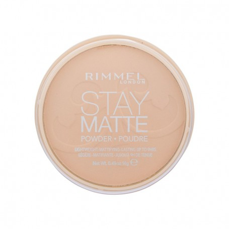 Rimmel London Stay Matte Puder 14g 006 Warm Beige