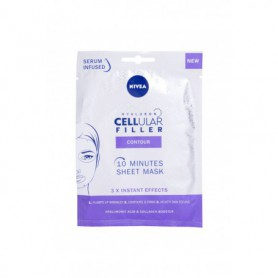 Nivea Hyaluron CELLular Filler 10 Minutes Sheet Mask Maseczka do twarzy 1szt