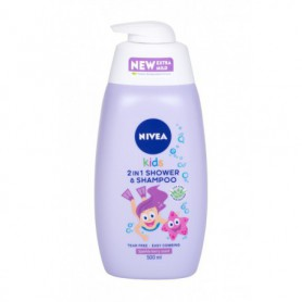 Nivea Kids 2in1 Shower & Shampoo Żel pod prysznic 500ml