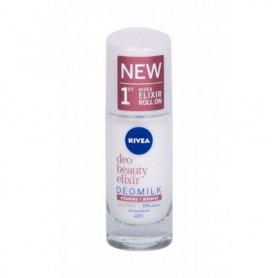 Nivea Deo Beauty Elixir Deomilk Sensitive Roll-on Antyperspirant 40ml