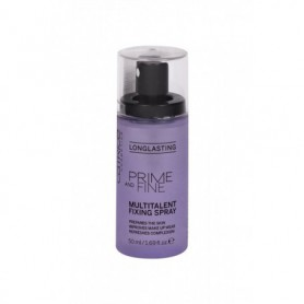 Catrice Prime And Fine Multitalent Fixing Spray Utrwalacz makijażu 50ml