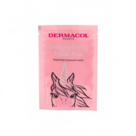 Dermacol Beautifying Peel-off Metallic Mask Brightening Maseczka do twarzy 15ml