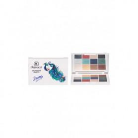 Dermacol Luxury Eyeshadow Palette Drama Cienie do powiek 18g