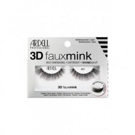 Ardell 3D Faux Mink 861 Sztuczne rzęsy 1szt Black