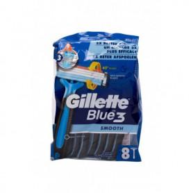 Gillette Blue3 Smooth Maszynka do golenia 8szt