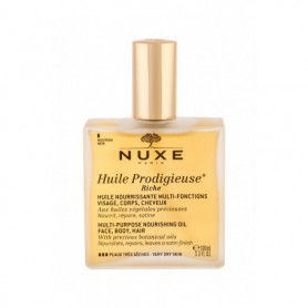 NUXE Huile Prodigieuse Riche Multi Purpose Dry Oil Face, Body, Hair Olejek do ciała 100ml tester