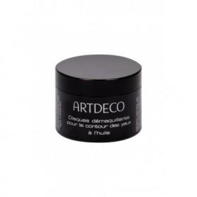 Artdeco Eye Make-up Remover Eye Make-up Remover Pads Oily Chusteczki oczyszczające 60szt