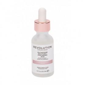 Makeup Revolution London Skincare 5% Caffeine Solution   Hyaluronic Acid Żel pod oczy 30ml