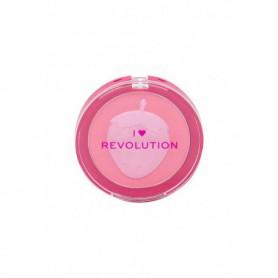 Makeup Revolution London I Heart Revolution Fruity Blusher Róż 10,25g Strawberry