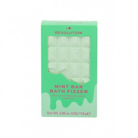 Makeup Revolution London I Heart Revolution Chocolate Bar Bath Fizzer Pianka do kąpieli 110g Mint