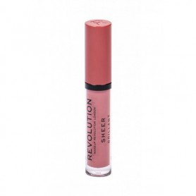 Makeup Revolution London Sheer Brillant Błyszczyk do ust 3ml 107 RBF