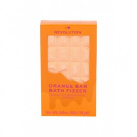 Makeup Revolution London I Heart Revolution Chocolate Pianka do kąpieli 110g Orange