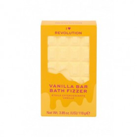 Makeup Revolution London I Heart Revolution Chocolate Bar Bath Fizzer Pianka do kąpieli 110g Vanilla