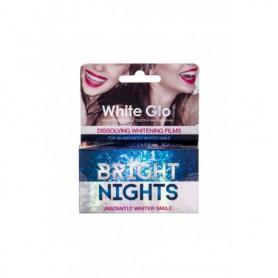White Glo Bright Nights Whitening Films Wybielanie zębów 6szt
