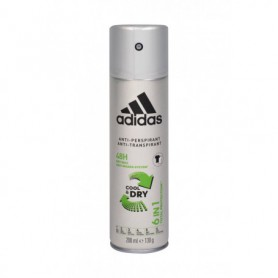 Adidas 6in1 Cool & Dry 48h Antyperspirant 200ml