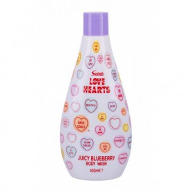 Swizzels Love Hearts Juicy Blueberry Żel pod prysznic 400ml