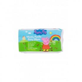 Peppa Pig Peppa Baby Wipes Chusteczki oczyszczające 56szt