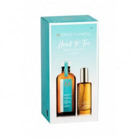 Moroccanoil Treatment Light Olejek do włosów 100ml zestaw upominkowy