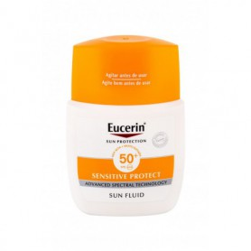 Eucerin Sun Sensitive Protect Sun Fluid Mattifying SPF50  Preparat do opalania twarzy 50ml