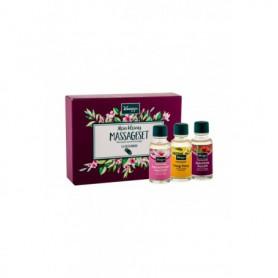 Kneipp Massage Oil Preparat do masażu 3x20ml zestaw upominkowy