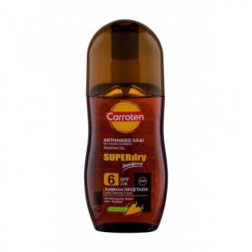 Carroten Superdry Suntan Oil SPF6 Preparat do opalania ciała 125ml