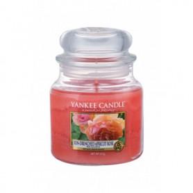 Yankee Candle Sun-Drenched Apricot Rose Świeczka zapachowa 411g
