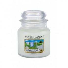 Yankee Candle Clean Cotton Świeczka zapachowa 411g