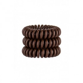 Invisibobble Power Hair Ring Gumka do włosów 3szt Pretzel Brown