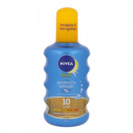 Nivea Sun Protect & Refresh SPF10 Preparat do opalania ciała 200ml