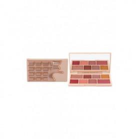 Makeup Revolution London I Heart Revolution Mini Chocolate Cienie do powiek 10,2g Rose Gold